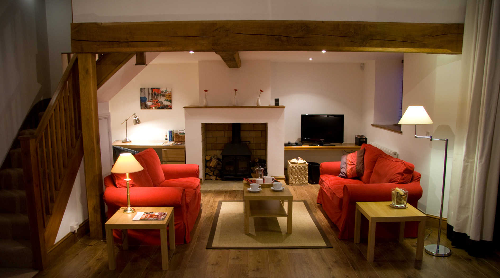 Front Room of Willow Barn -